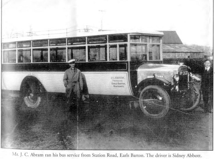 Joseph Abram and bus
