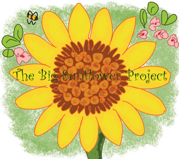 The Big Sunflower Project logo