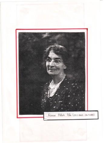 Frances Shortland.