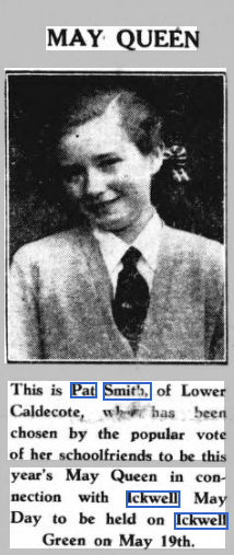 Biggleswade Chronicle 11 May 1951.