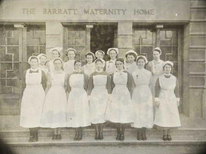 nurses-at-barratt-maternity-home-2