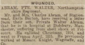 Northampton Mercury: 21 July 1916
