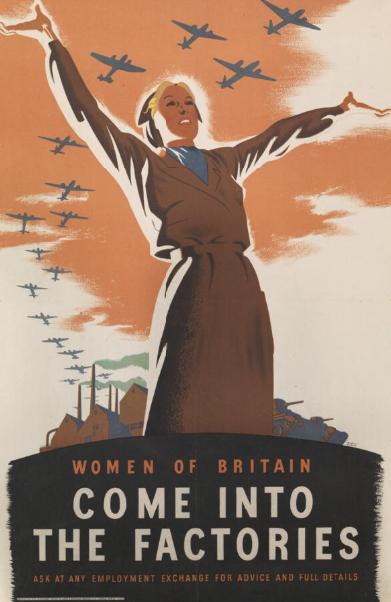 Second World War recruitment poster.